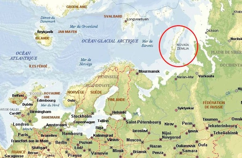 Image result for novaya zemlya russia