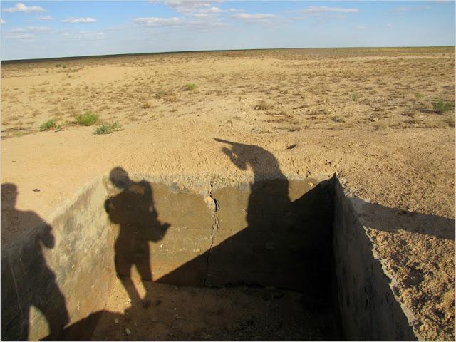 Казахстан, Мангистауская область, плато Устюрт. Мангышлакский полигон. Подземные ядерные испытания.