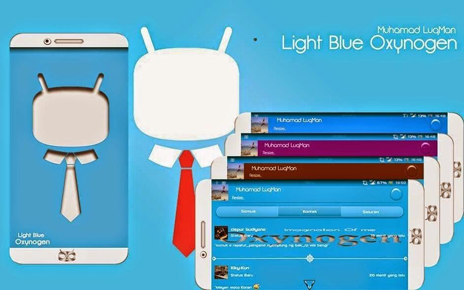 BBM Light Blue Oxynogen Mod Apk