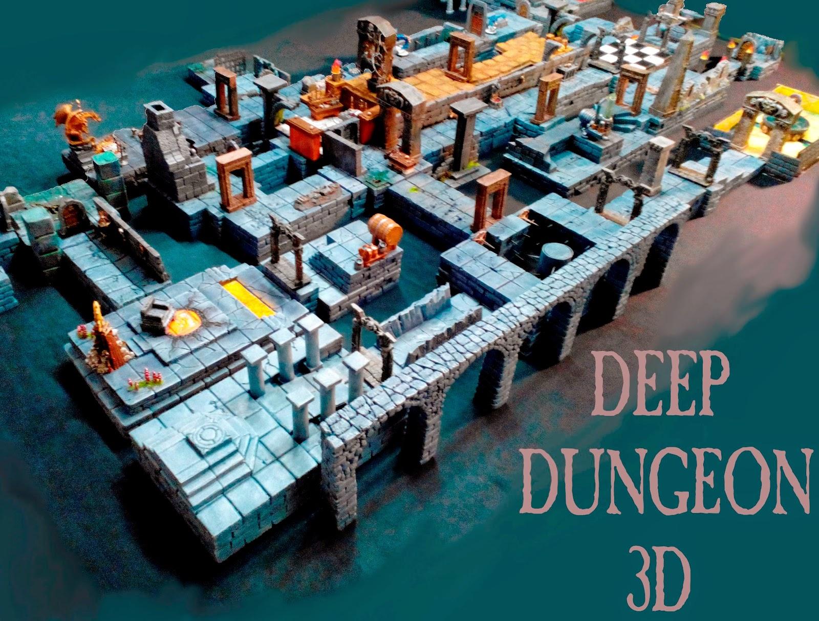 Deep Dungeons lanza su Crowfunding
