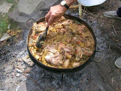 Disco de hierro para cocinar