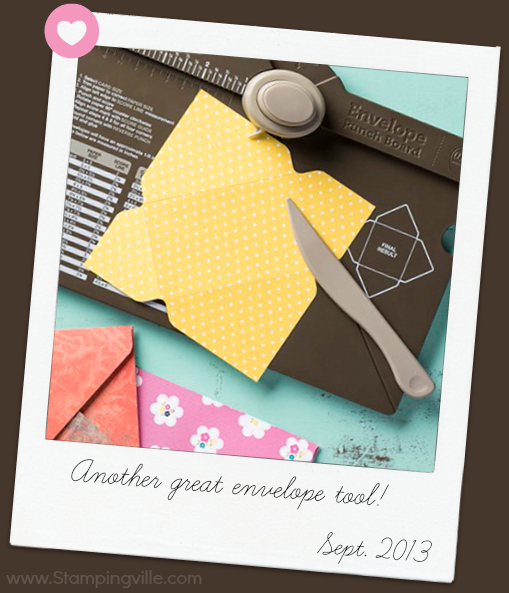 Stampin' Up! Envelope Punch Board Tool
