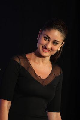 kareena kapoor at the launch of new sony vaio laptops. cute stills