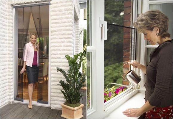 Marzua tipos de mosquiteras para puertas y ventanas for Mosquiteras puertas abatibles terraza