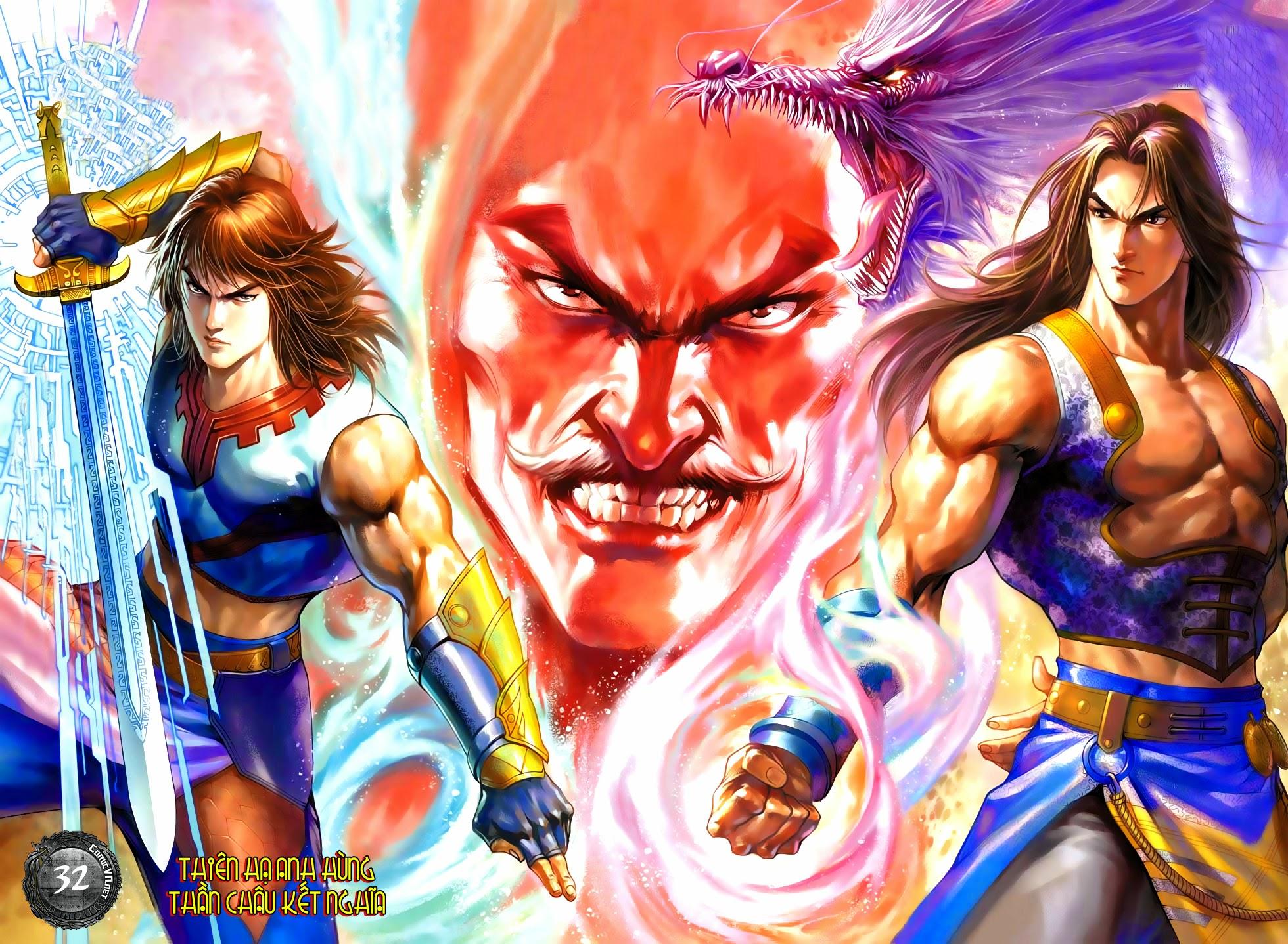 Thần Châu Kỳ Hiệp chap 32 – End Trang 1 - Mangak.info