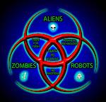 Aliens, Robots, Zombies Desktop