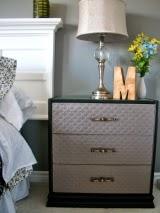 Ikea Hack: Quilted Rast Dresser