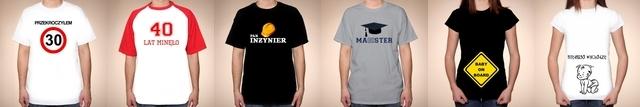 koszulki i kubki na prezent