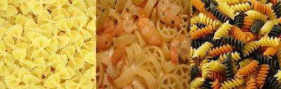 rotini-farfalle-rotelle pasta