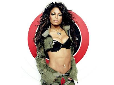 Janet Jackson Sexy Wallpaper