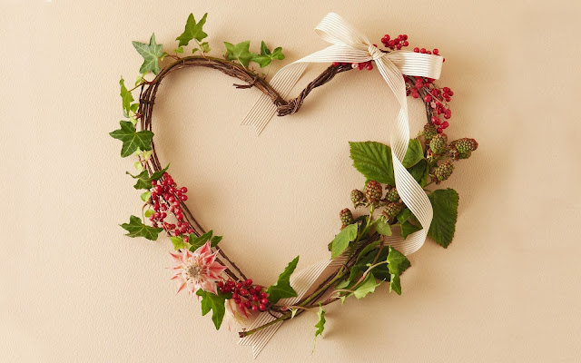 Woven Heart Shaped Wreath