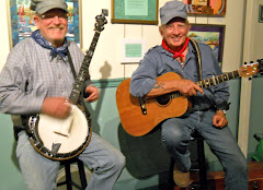 John the Banjo Barrister and Joe Mama singing the Railroad Song.