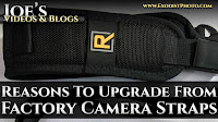 Reasons To Upgrade From Factory Camera Straps | Joe's Videos & Blogs