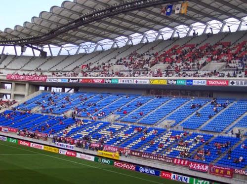Kawasaki Stadium.