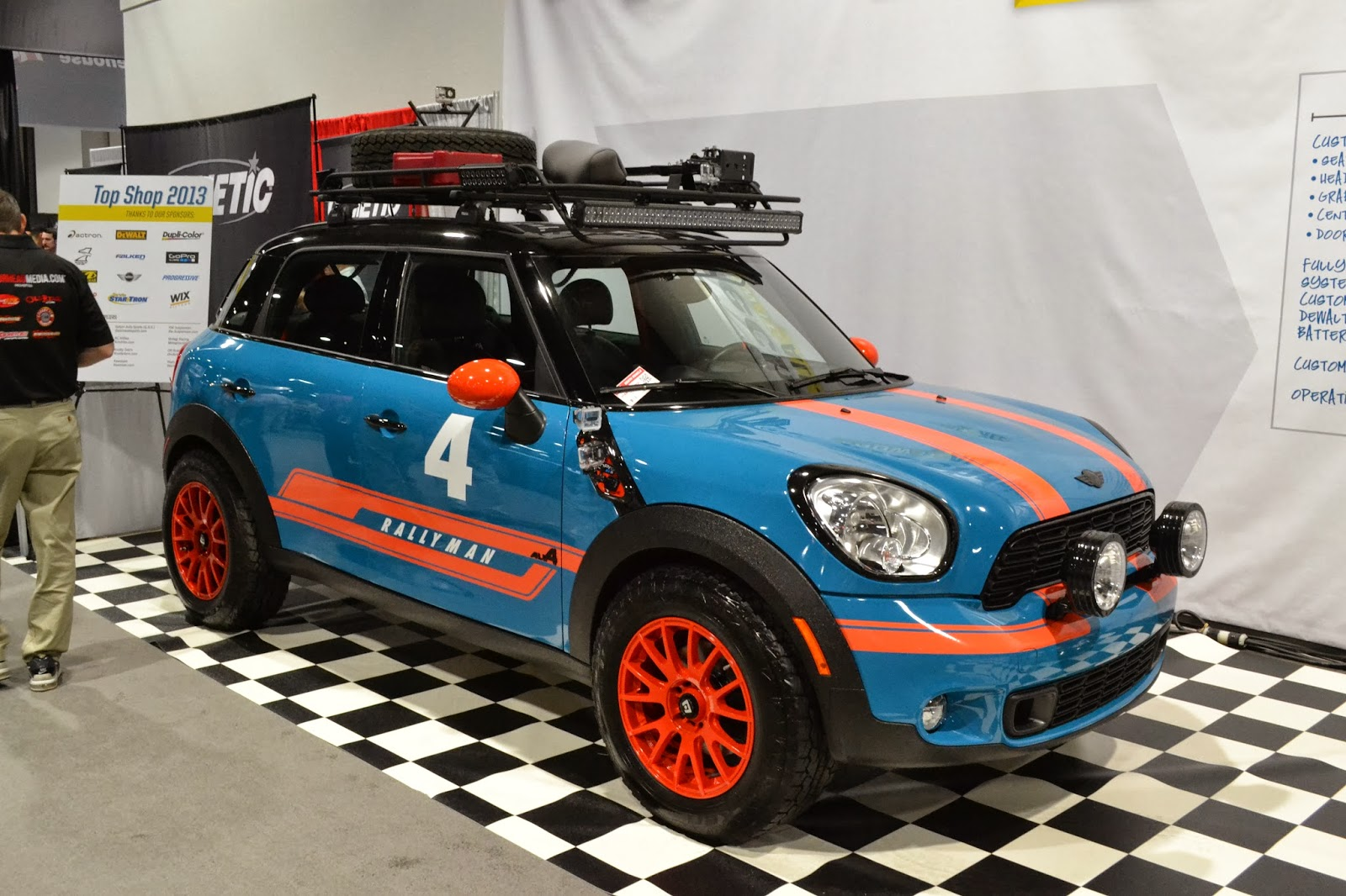 MINI Countryman from the 2013 SEMA Show