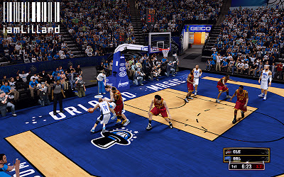 NBA 2K13 Orlando Magic Fictional Court Design