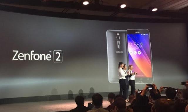Spesifikasi Lengkap dan Harga Asus Zenfone 2