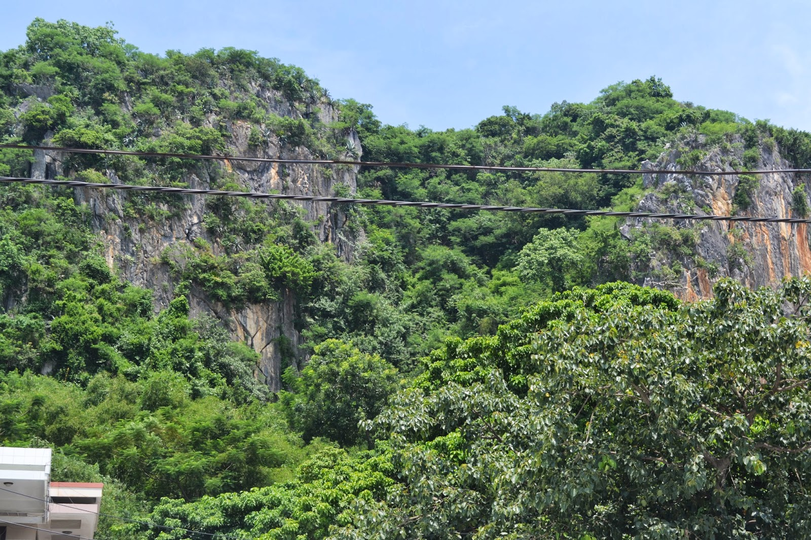 Inside scenery of the Mountain