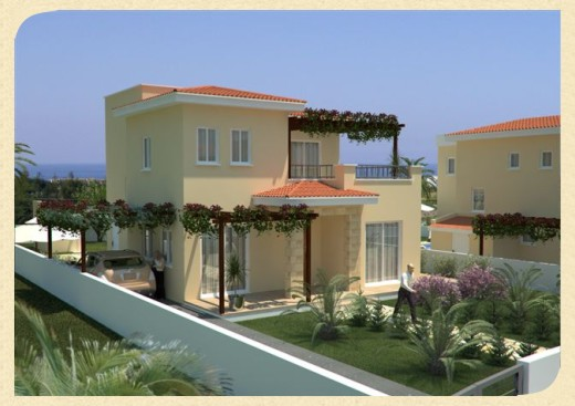 New home designs latest cyprus villa designs exterior views for Villa exterior design ideas
