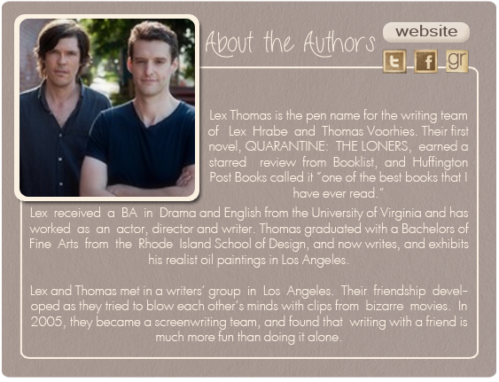 a review of the loners a book by lex thomas