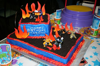Amazing Transformers Birthday Cakes