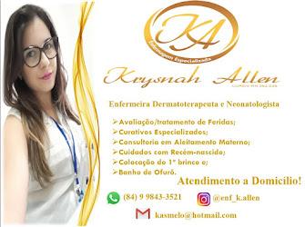 Enfermeira Krysnah Allen