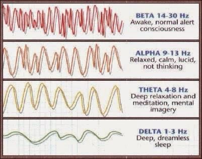 Tipos de ondas cerebrales