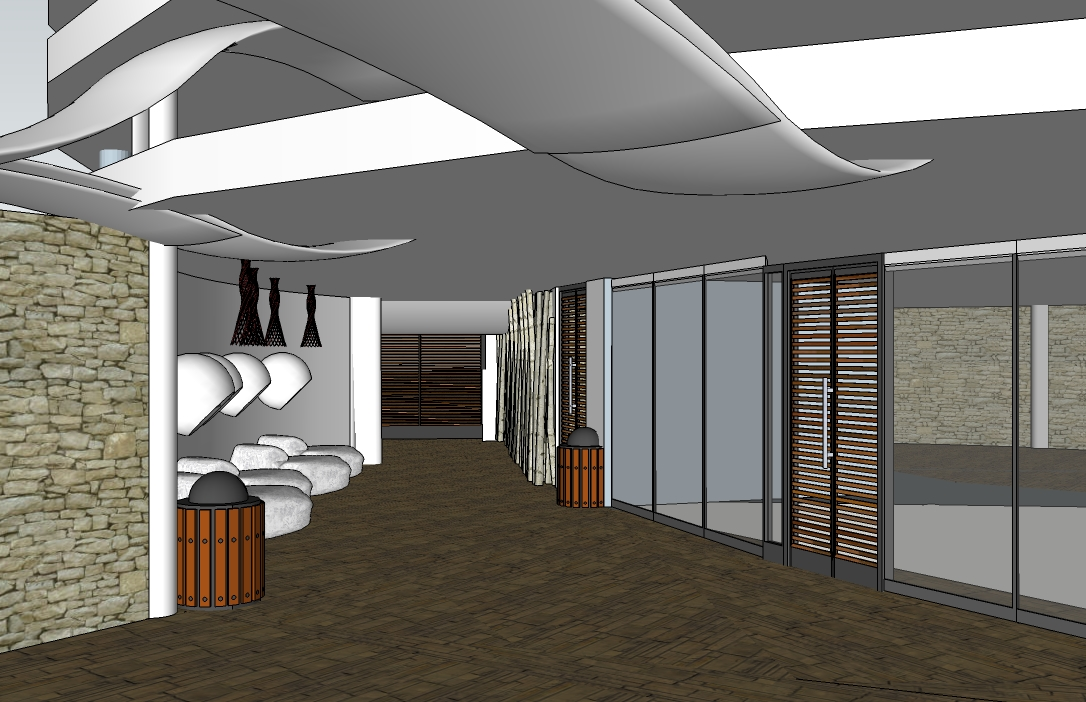 O design a design that is slowly coming together for Office main door design