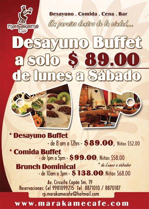 Cafe Desayunos Brunch Buffet Marakame – Directorio de ...