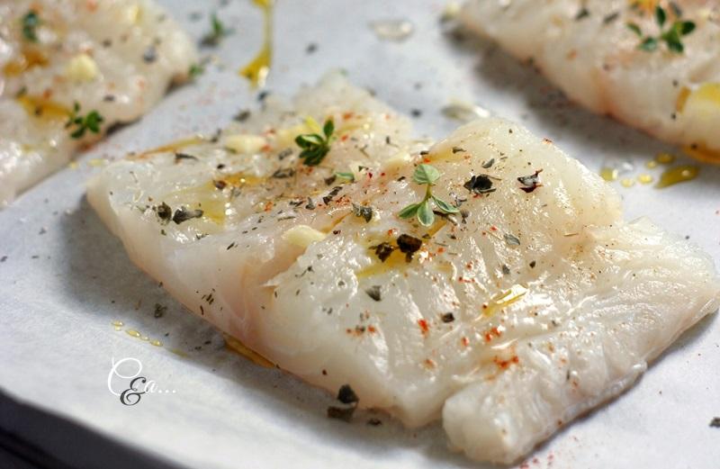 cucinando e assaggiando...: filetti di merluzzo al forno con salsa ... - Cucinare Filetto Di Merluzzo