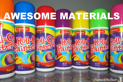 Lakeshore roller paints, early childhood, NAEYC