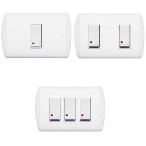 Bticino interruptor con luz piloto ferreteria industrial - Tipos de interruptores de luz ...