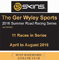 Race Series in Waterford...Apr to Aug 2016