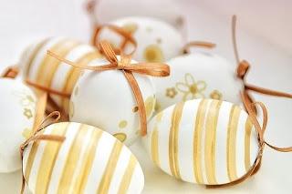 Ovos de páscoa decorados