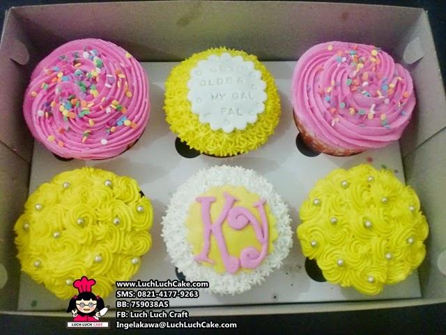 Cupcake Ulang Tahun Cantik Untuk Sahabat