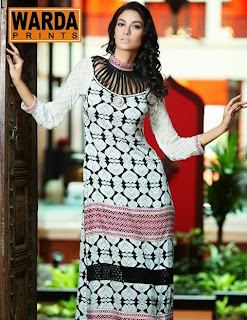 Latest Warda Winter Designer collection 2013