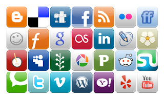Mosaico redes sociales