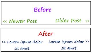 mengganti posting lama posting terbaru dengan judul postingan