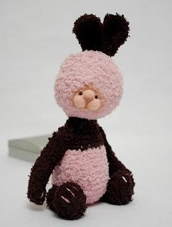 заяц,  друзья тедди,  кролик,  вязаный заяц