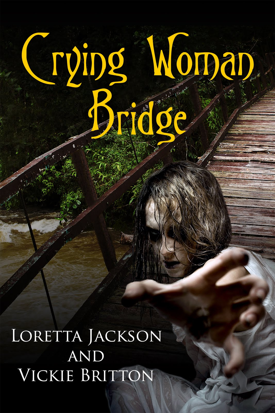 Read FREE Feb. 15-19! Crying Woman, Haunted Bridge, Missing baby!  A JEFF MCQUEDE MYSTERY