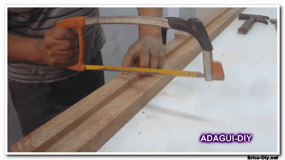 Como hacer marco de madera para puertas contraplacadas   vídeo ...