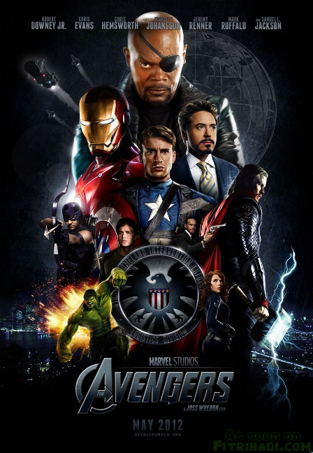 gambar poster image review filem the avengers movie