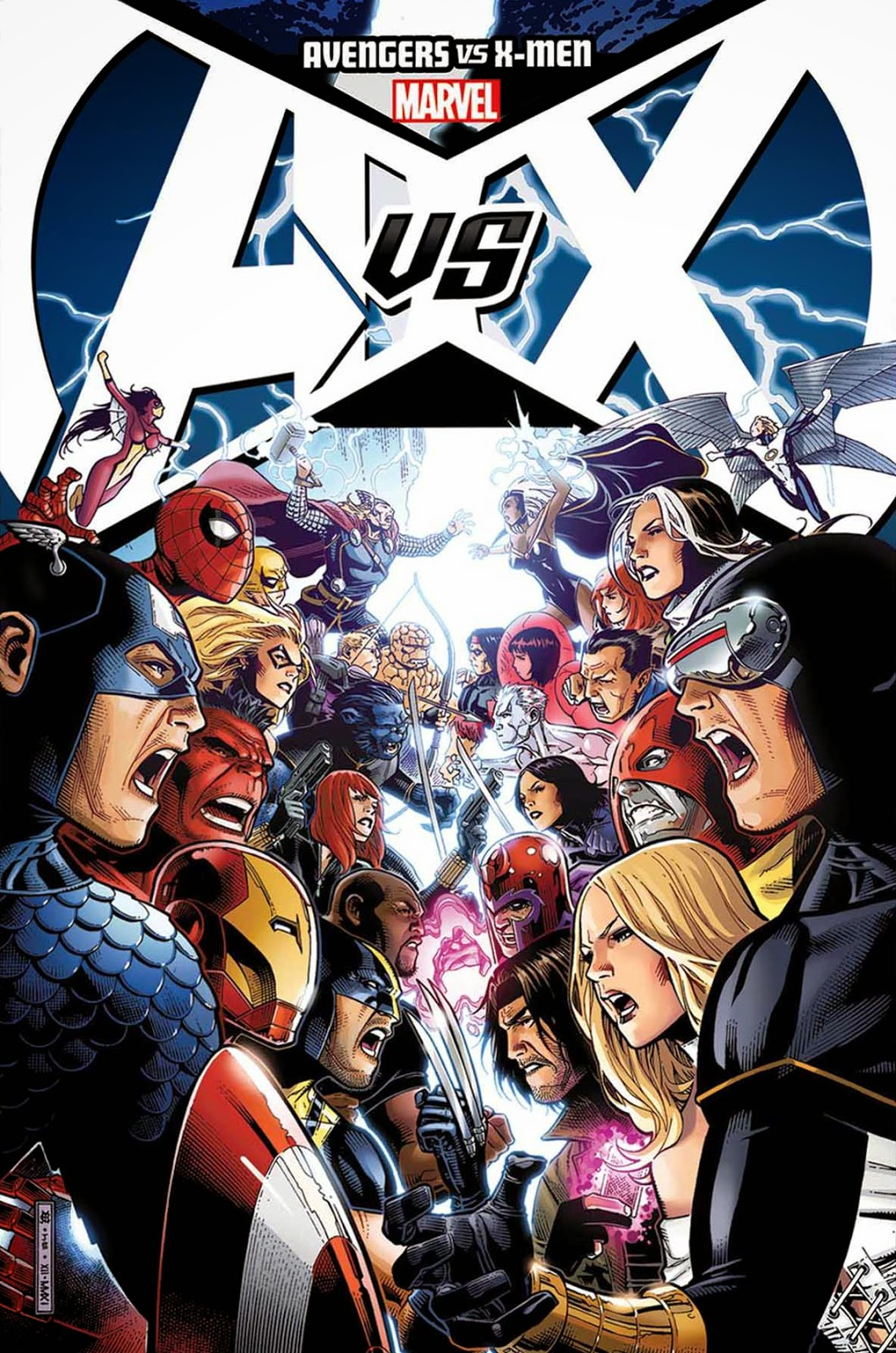 X men vs the avengers