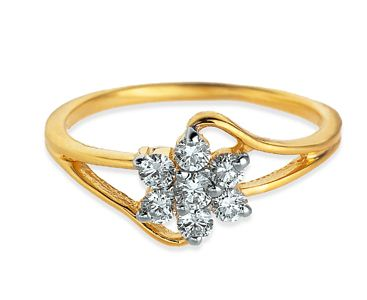 New popular wedding rings Tanishq wedding ring designs