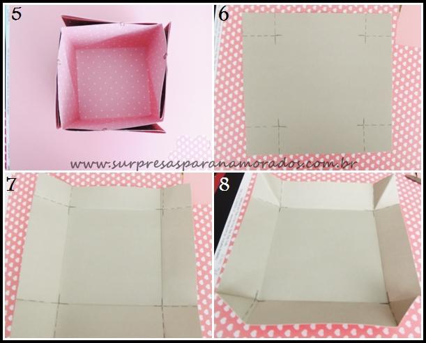 como fazer uma caixa surpresa