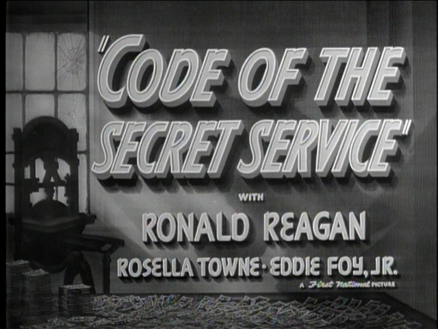 The 1939 Reagan film that inspired Parr to become an agent