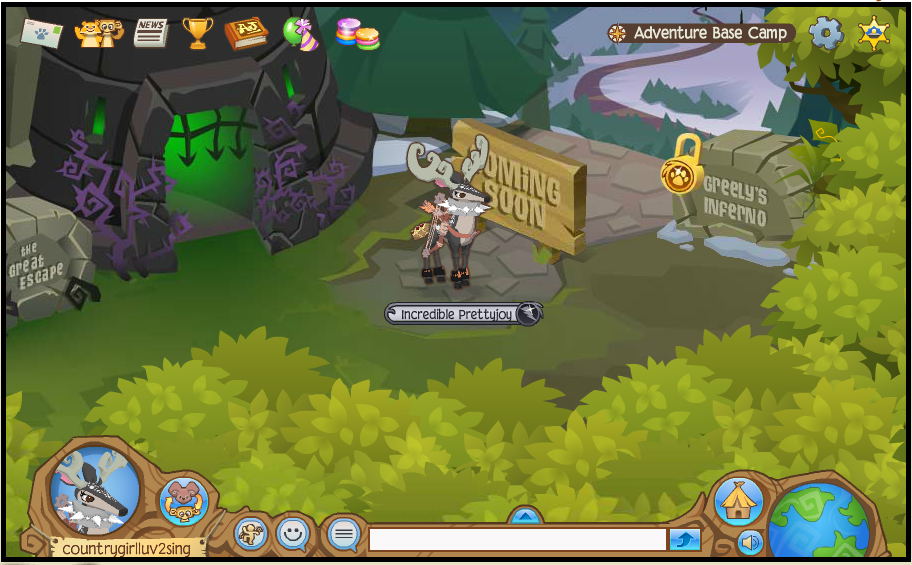 it looks fun maybe even animal jam s best adventure yet also as