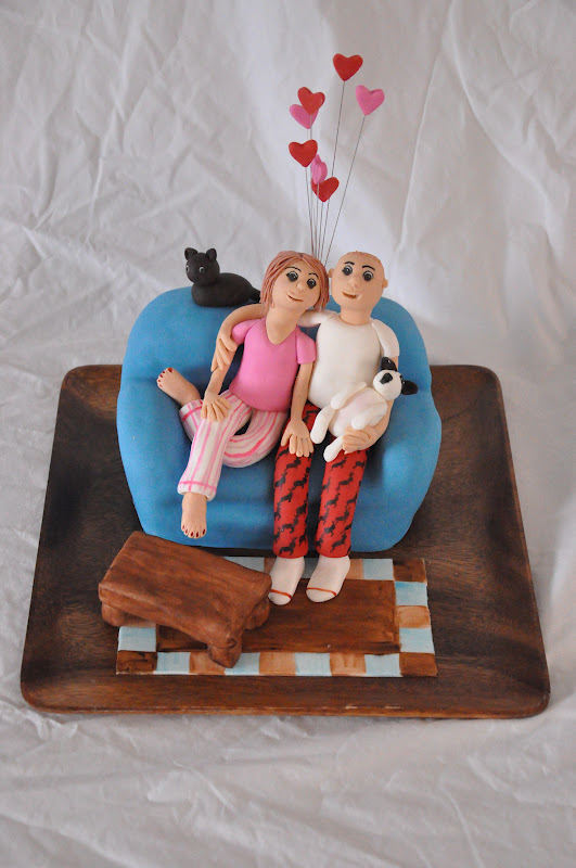 Birthday Cake Ideas For Husband And Wife : Baking In Faith: Carving a Couch Cake