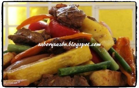 nuestro riquisimia comida peruana