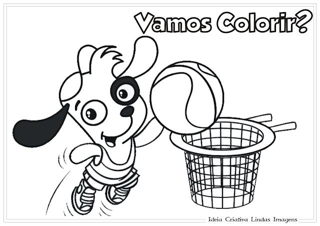 Doki desenho para colorir